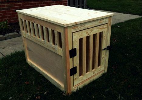 diy wooden dog crate  doubles    table diy