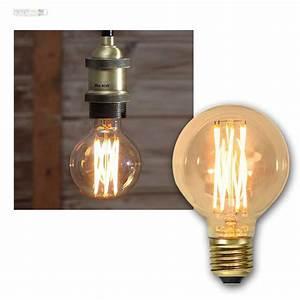 Retro Glühbirne Led : e27 gl hlampe filament led nostalgie birne retro vintage spiral gl hbirne lampe ebay ~ Orissabook.com Haus und Dekorationen