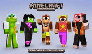 Minecraft Xbox 360 Skins