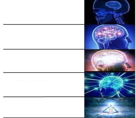 expanding brain template how to do things with memes real