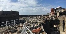 軍艦島「上陸禁止」続く 台風で被害、19年2月再開見込み - 毎日新聞