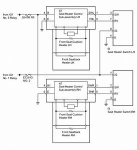Heated Seat Switch Wiring Diagram Toyota