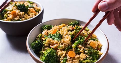 mustard greens recipe recipe fried rice with pickled carrots and mustard greens