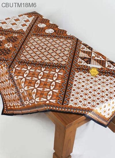 taplak meja katun motif tambal sewu taplak meja batik