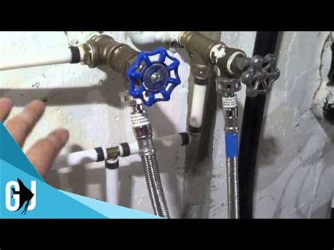 how to install pex pipe under sink 235 retrofitting basement plumbing pex tubing for