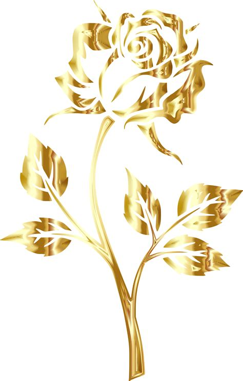 gold yellow flowers clipart clipground