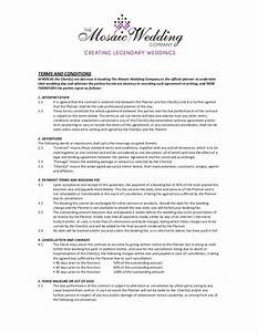 wedding planner terms and conditions template 28 images With wedding planner terms and conditions template
