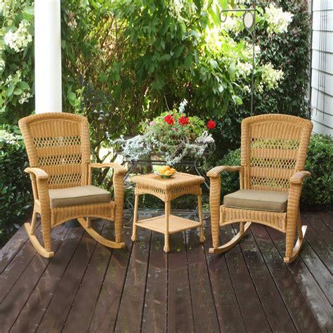 shop tortuga outdoor portside 3 wicker patio