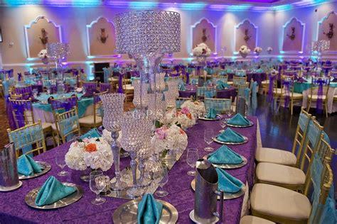 Purple Wedding Beach Centerpiece Ideas Purple wedding