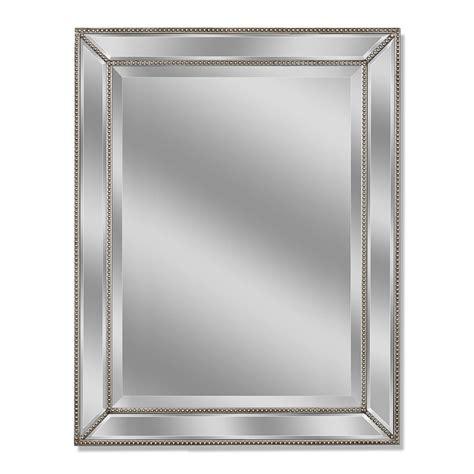 allen roth      silver beveled rectangle framed