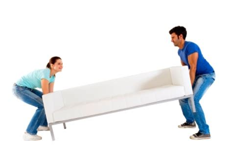 carrying furniture safely during a move