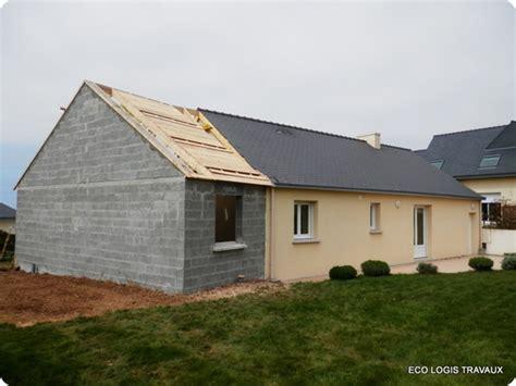 cuisine en zinc agrandissement de maison en v eco logis travaux
