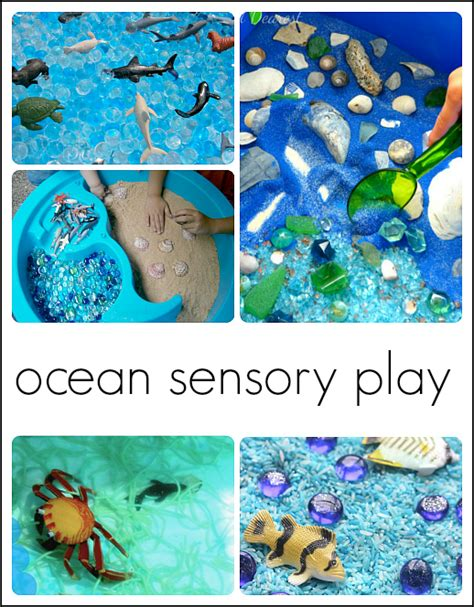 30 fantastic activities for a preschool theme 572 | preschool ocean theme sensory bins 1