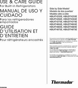 32 Thermador Refrigerator Parts Diagram