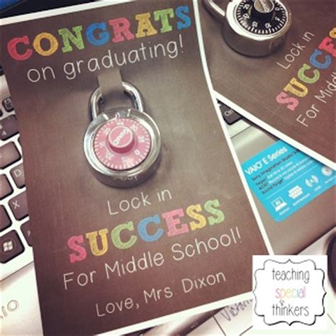elementary school graduation gifts teaching special thinkers student gifts school ideas pinterest gifts for graduates gifts