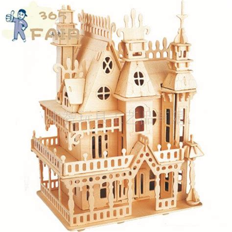 puzzle stereo villa sogno wooden puzzles magic cubes