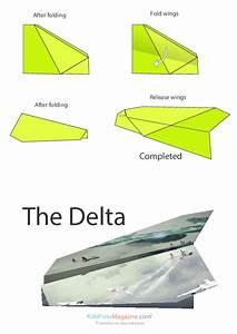 Paper Airplane Instructions  U2013 Arrow