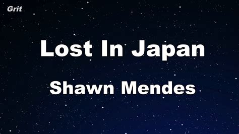 Shawn Mendes Karaoke 【with Guide Melody