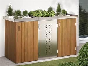 Unterstand Für Mülltonnen : m lltonnenboxen aus holz senco holzfachhandel gmbh essen ~ Lizthompson.info Haus und Dekorationen
