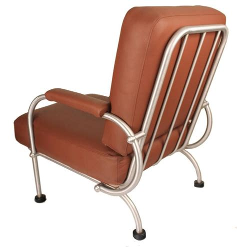 pair of warren mcarthur lounge chairs 1930s deco