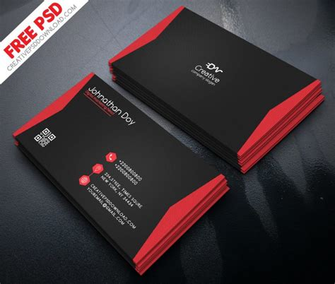 digital marketing business card  psd