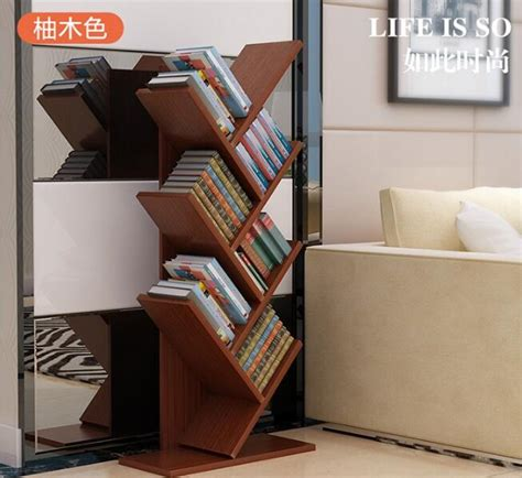 104cm Eco Friendly 7 Layers Creative Tree Style Bookcases