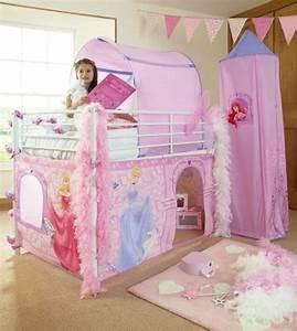 Lit Superposé Princesse : tente chateau princesse disney chez doudou ~ Teatrodelosmanantiales.com Idées de Décoration