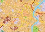 Belfast vector map. EPS Illustrator Map | Digital Maps ...