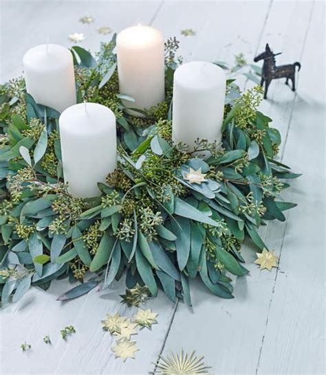 Adventskranz Zum Selber Machen by Adventskranz Selber Machen Weihnachten Jul Und Blommor