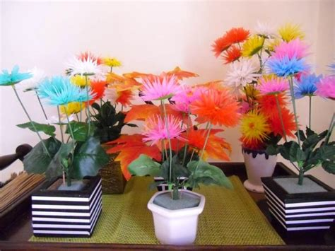 membuat bunga hiasan ruang tamu desainrumahidcom