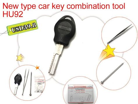 New Type Car Key Combination Tool Hu92 Auto Key