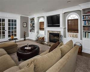 Awesome, Comfy Family Room! The Home Touches