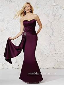modern maids m1496 satin fit and flare bridesmaid dress With wedding dresses for maids