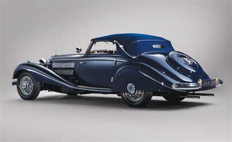 Maharajah of Indore's 1937 Mercedes 540K Cabriolet A Up ...