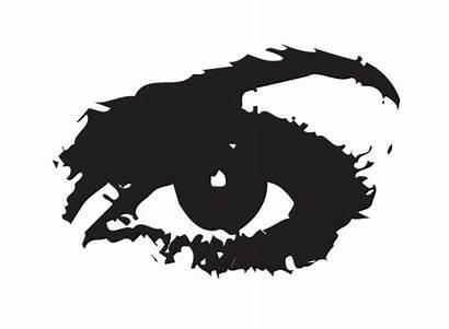Stencil Stencils Graffiti Silhouette Cliparts Clipart Eye