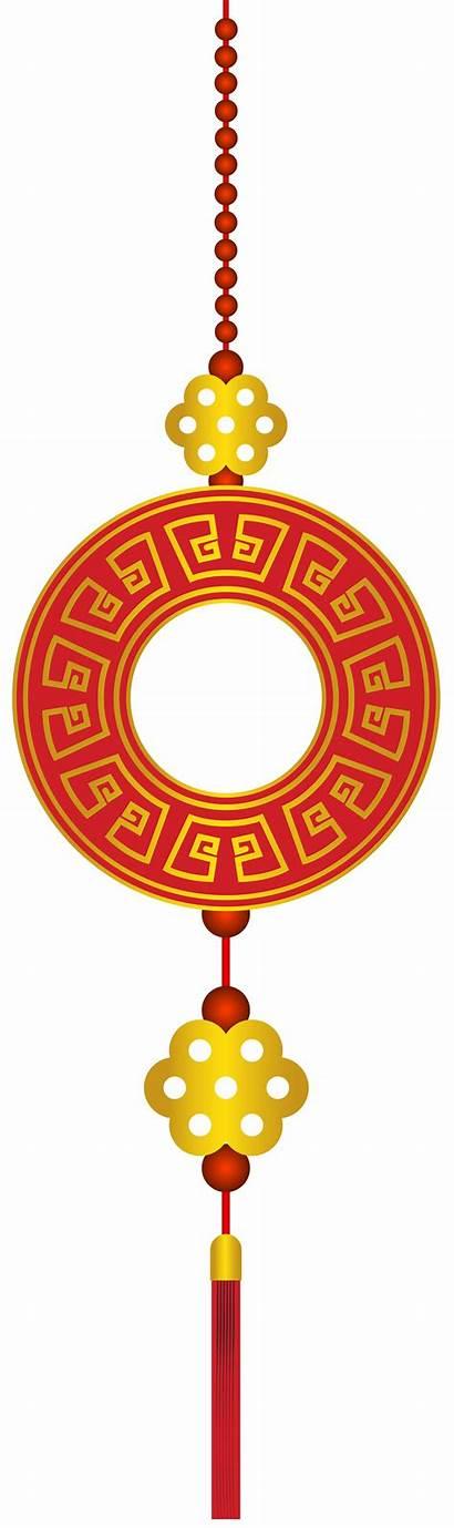 Chinese Clip Clipart Decor Orange Transparent Eve