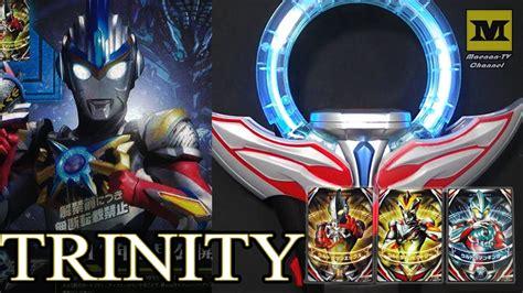 Trinity Fusion (ultraman X + Ginga + Victory