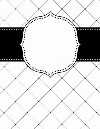 Binder Lattice Printable Covers Templates Bindercovers Template