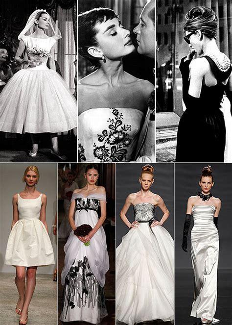 Audrey Hepburn bridal style