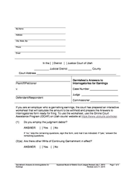 Printables Garnishment Worksheet Lemonlilyfestival Worksheets Printables