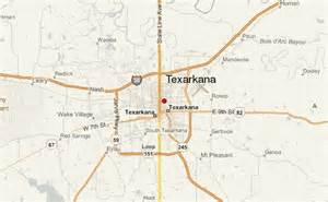 Texarkana Arkansas Map