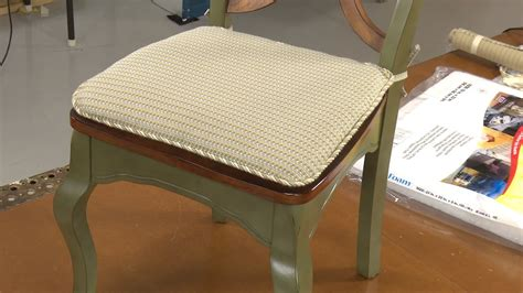 chair pad cushions youtube
