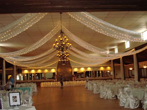 draping and lighting for wedding event ceiling decorations decor specializes in
