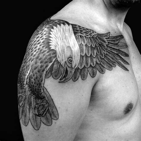 Eagle Shoulder Tattoo Designs, Ideas And Meaning Tattoos