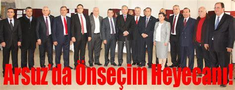 Arsuz'da Önseçim Heyecanı!  İskenderun Gazetesi