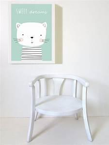 la deco chat dans une chambre d39enfant joli place With affiche chambre bébé avec housse de couette fleurie la redoute
