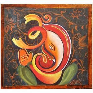 Ganpati Bappa, Ganesha- Original Acrylic Painting by ...