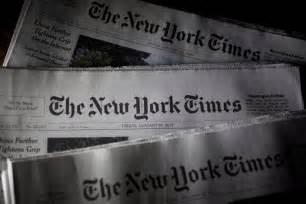 Trump Is Wrong About New York Times Subscriptions Going