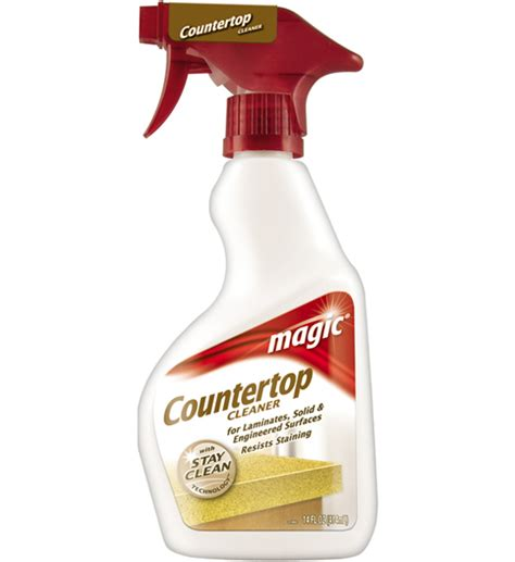 magic complete countertop cleaner and in household