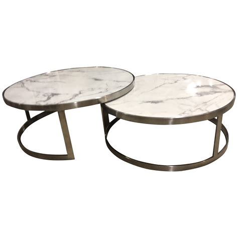 Get 5% in rewards with club o! Sterling Coffee Table Set White Marble - Future Classics Furniture